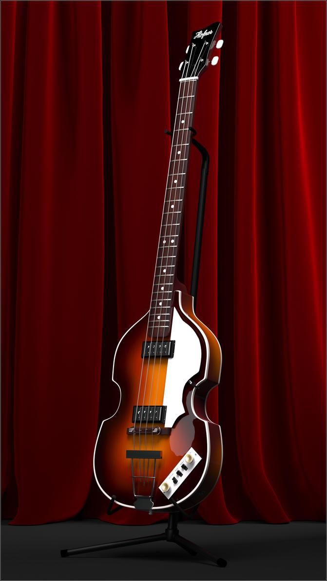 Hofner Violin Bass by fram1963