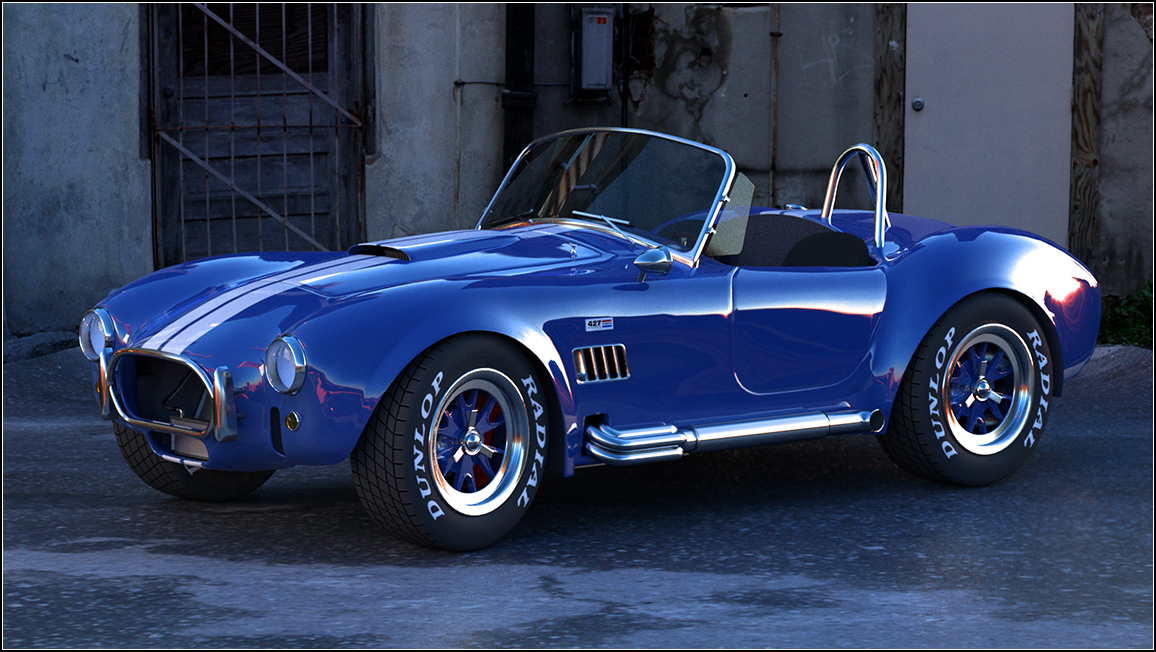 Shelby Cobra 427 by fram1963