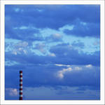 blue minimal by zveta