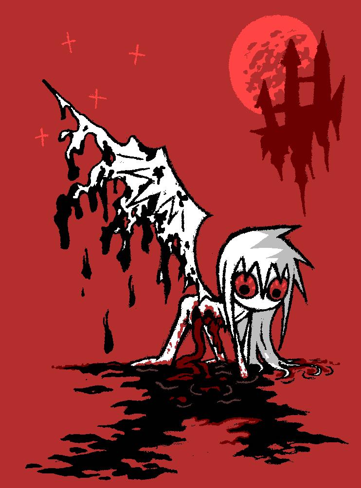 black bloody melt by reziset