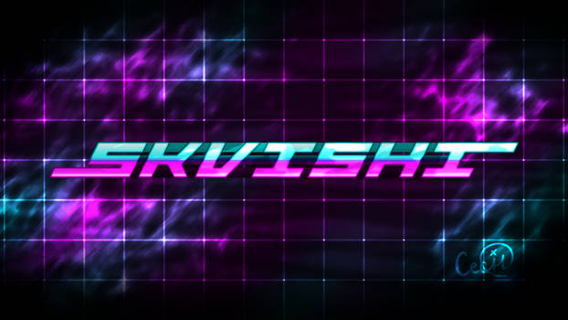 Skvishi Retrowave Logo