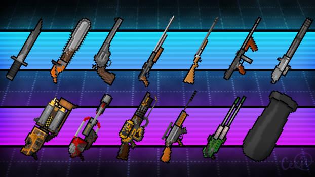 Pick a weapon