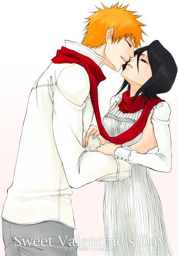 ichigo and rukia kiss - photo #2