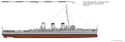 CL ORP Kamieniec 1914 by Herakleides