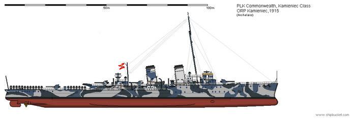 CL ORP Kamieniec 1915 by Herakleides