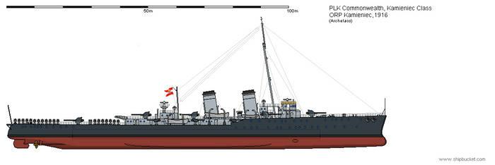 CL ORP Kamieniec 1916 by Herakleides