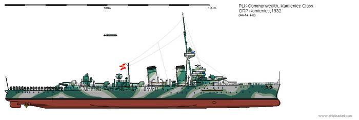 CL ORP Kamieniec 1932 by Herakleides