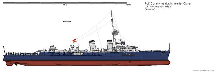 CL ORP Kamieniec 1933 by Herakleides