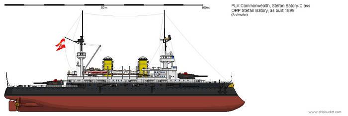 B ORP Stefan Batory 1899 by Herakleides