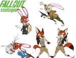 Fallout: Zootopia Character Sheet