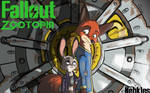 Fallout Zootopia Fanfic Cover