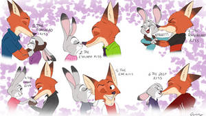 Know your kisses by Quirky-Middle-Child