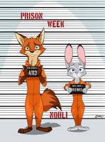 Prison Week: Commission by Quirky-Middle-Child