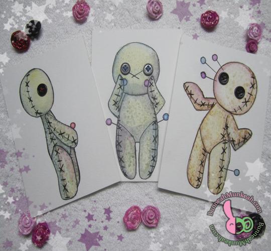 Voodoo Dolls by Bunneahmunkeah