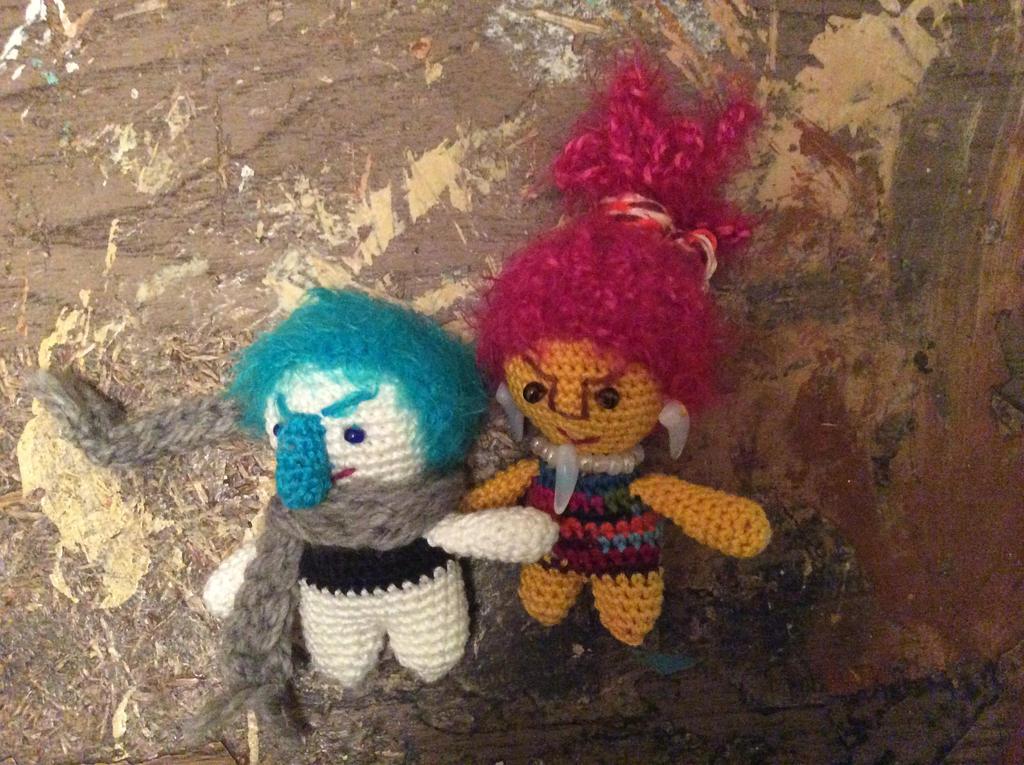 Strange little people by Mamazoya