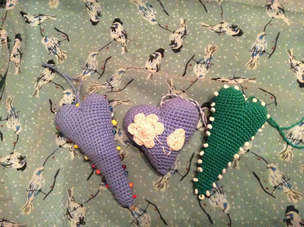 100 hearts - N24, 25, 26 by Mamazoya