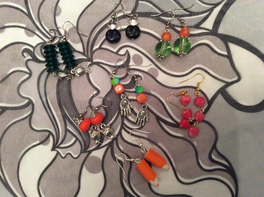 Earrings  February 17 p1 by Mamazoya