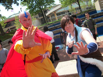 The Avatars! by MoonNeko