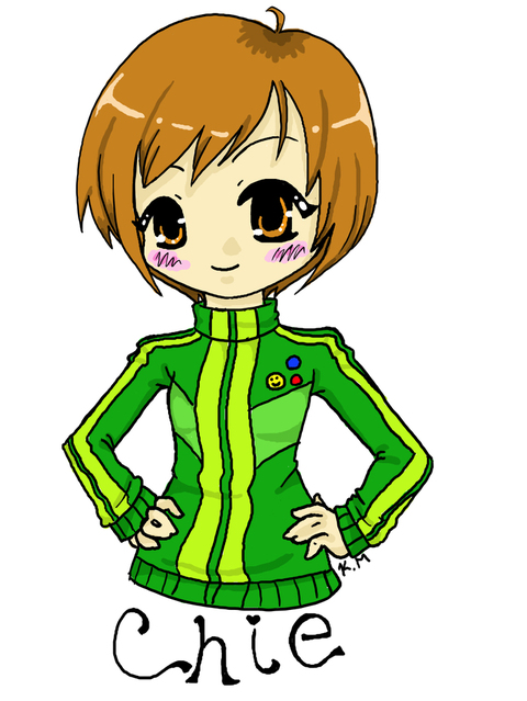 Chie Satonaka - Persona 4 by Kilili on DeviantArt