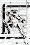 TMNT Raphael Inked