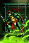 TMNT Raphael Colored
