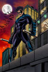 Nightwing Colored