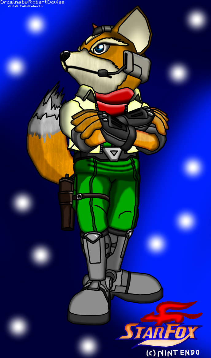 The Fox in Action (Enhanced) by GamezillarRespawn