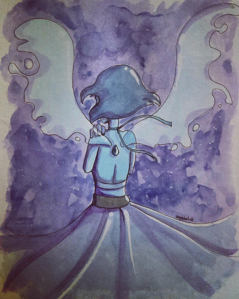Awesome character, Lapis ! ____ Characters © Lapis Lazuli from Steven Universe Art © AryaBehsk Please, don't use/copy this art.