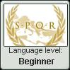 Latin- Beginner Stamp