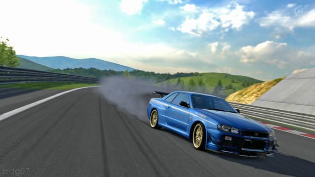 BNR34 SKYLINE GT-R on GT5
