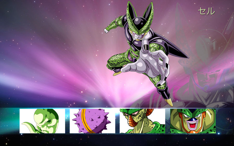 Dragon Ball Mac Wallpaper Cell By Edjfreak On Deviantart