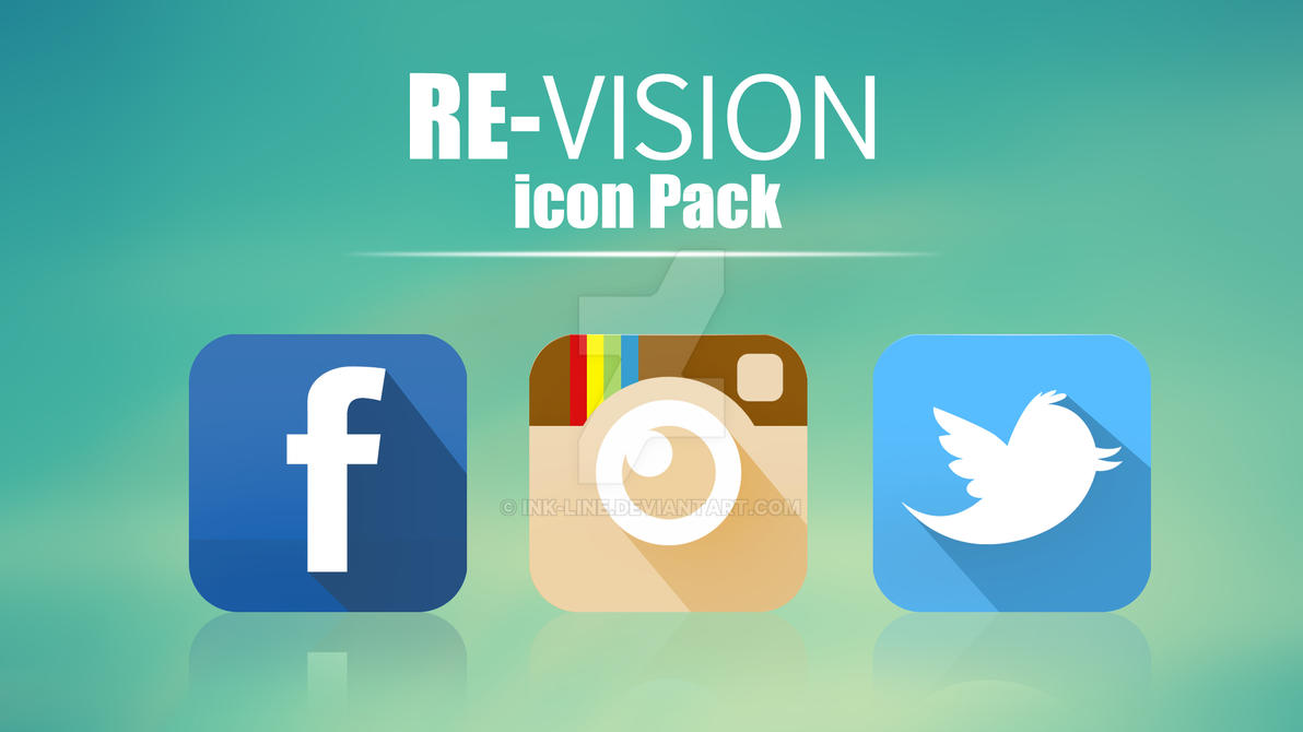 RE-vision icon pack by ink-line