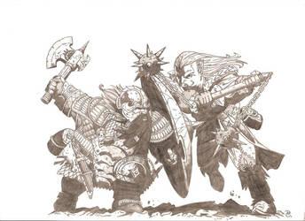DWARF VS ELF by DavideKent