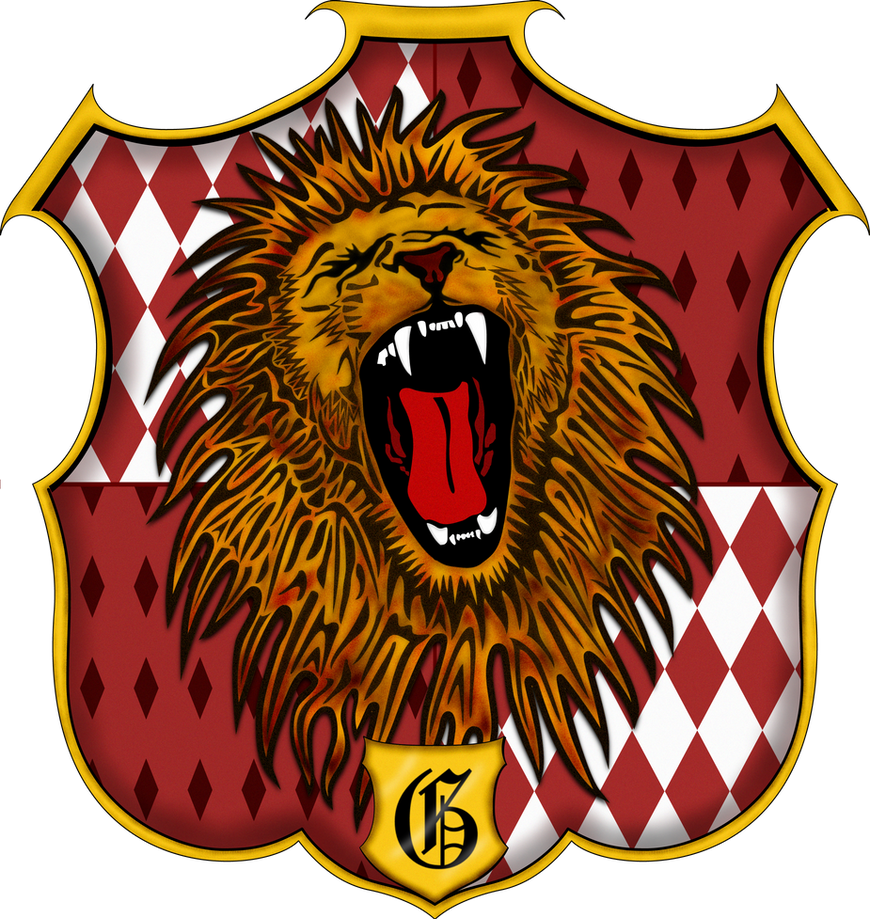 Awesome Gryffindor Crest By Witcheewoman ...