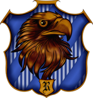 Ravenclaw Crest by witcheewoman