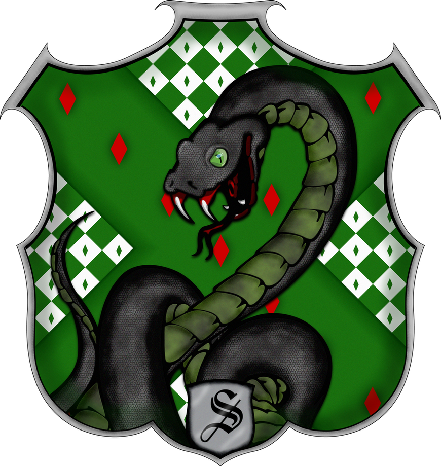 Image Result For Slytherin House Crest