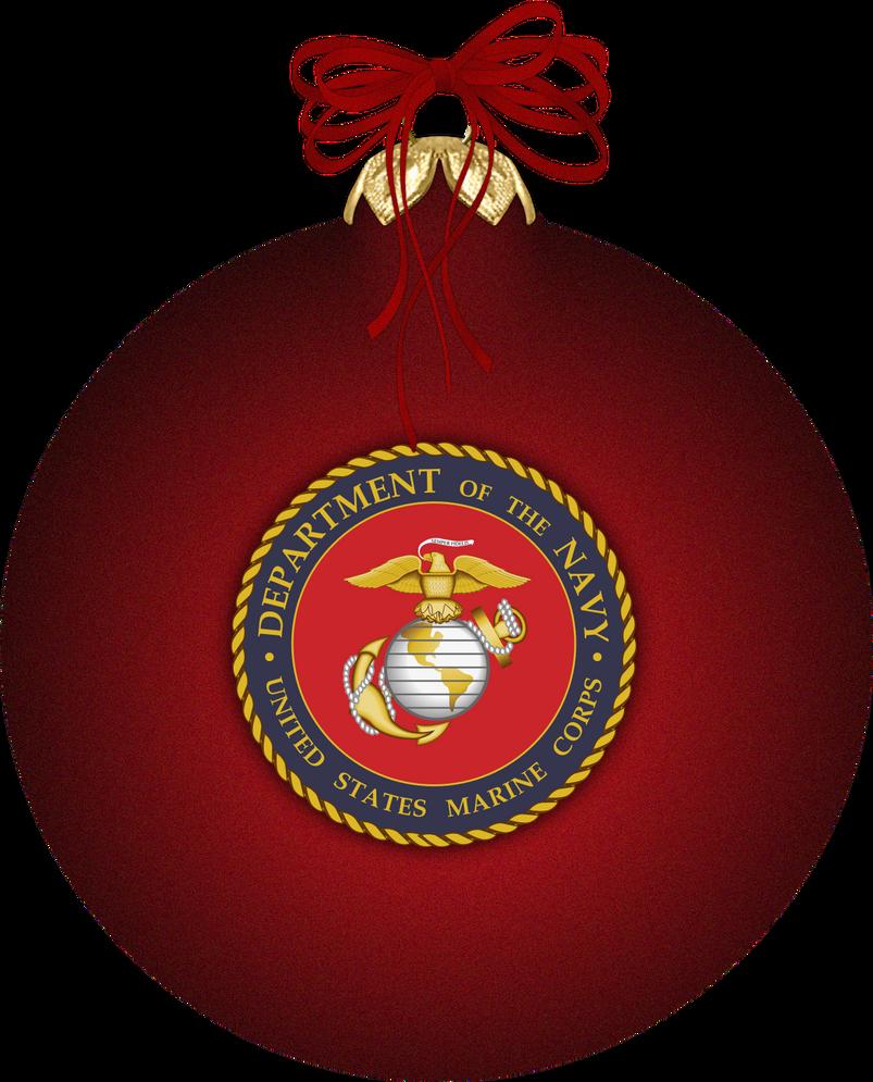 Marine Corps Christmas Ornamen by witcheewoman on DeviantArt