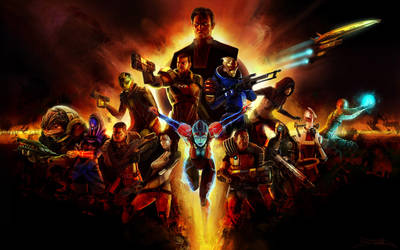 Mass Effect Montage by Exullium