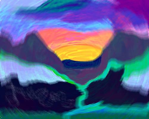 dreamscape thru a foggy lens