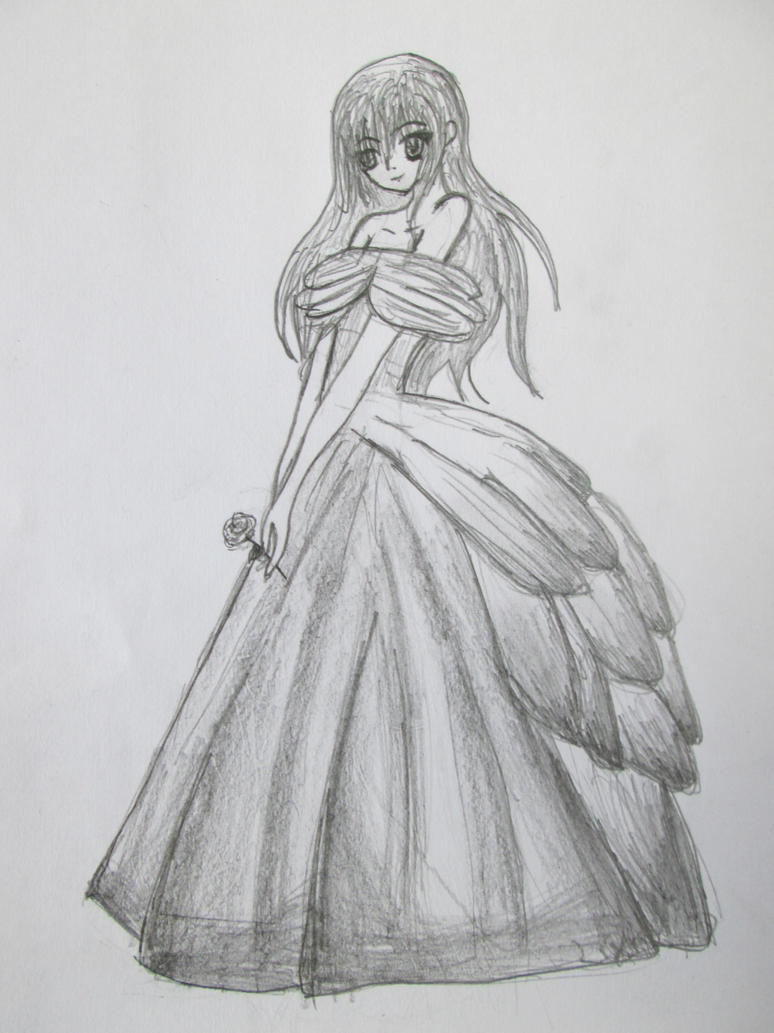 ball gown dress drawings - photo #16