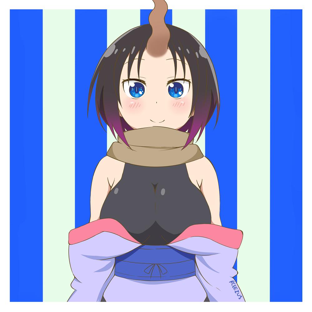Elma (from Miss Kobayashi's Dragon Maid) by ArtsyRC