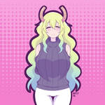 Lucoa's New Sweater