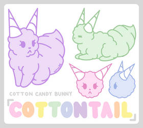 Cottontail (OC) by ArtsyRC