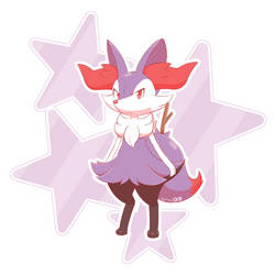 Shiny Braixen by ArtsyRC