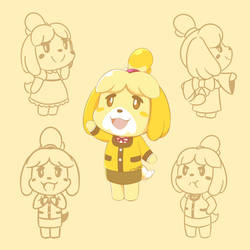 Isabelle Collage by ArtsyRC