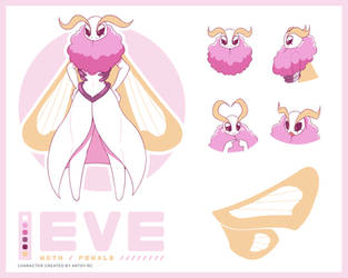 Eve Reference Sheet by ArtsyRC