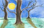 Moonlight Postcard I by LoVeras