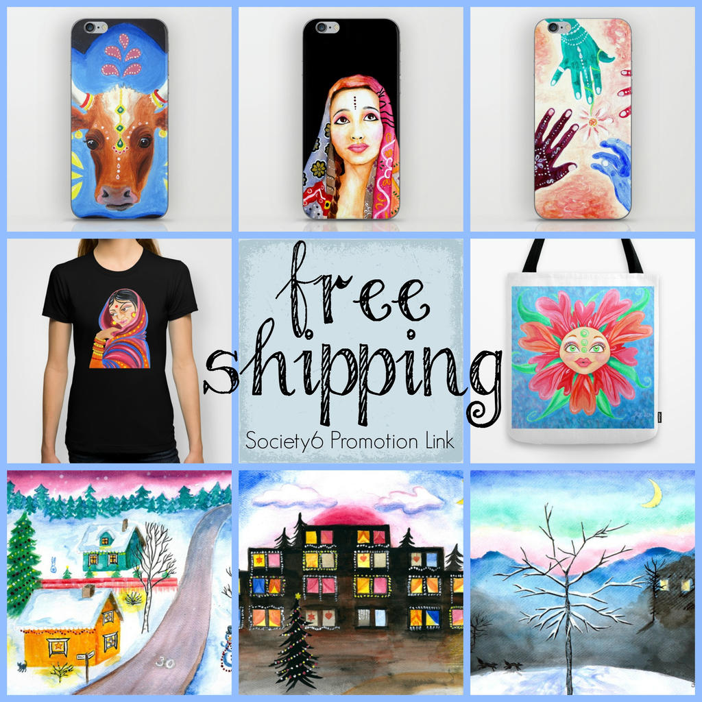 Free shipping on society6 art prints by loveras on deviantart for Websites similar to society6