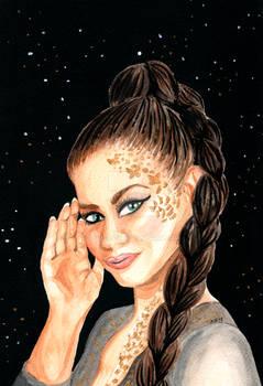 Saara Aalto Eurovision Watercolor Painting