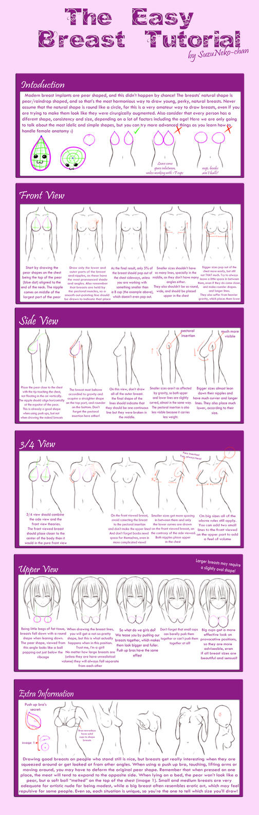 The Easy Breast Tutorial by Nuei